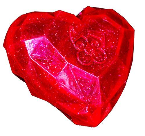 Valentine/'s Day PUPPY LOVE Embroidered Dog Love Heart Toy w Squeak