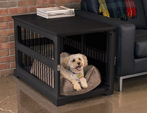 Dog Crate End Tables The Best, Dog Crate Wooden Furniture