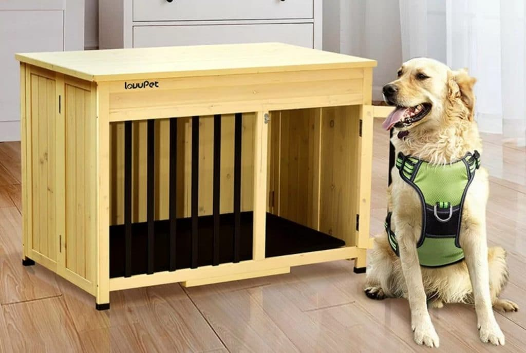 Wooden Dog Crates The Best, Dog Crate Wooden Furniture