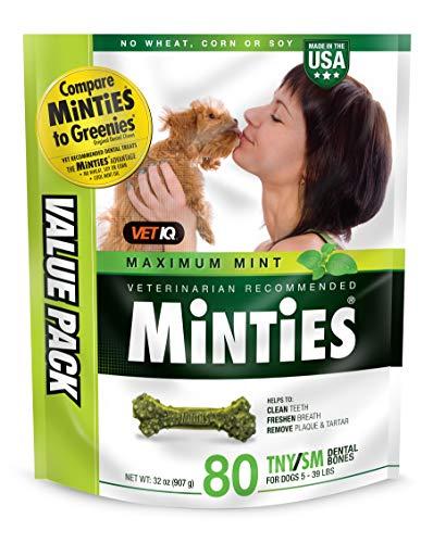 Chewy VetIQ minties dog dental hygiene