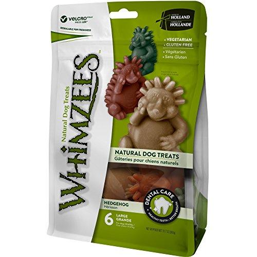 Whimzees natural grain-free dog dental hygiene chews