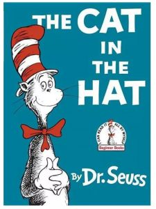 """""""The Cat in the Hat"""" Dr. Seuss book"""