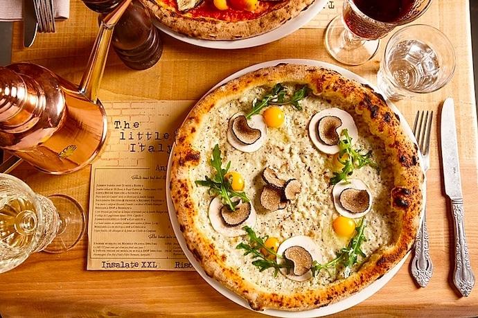 Pizzeria Little Italy : restaurant qui accepte les chiens à Paris