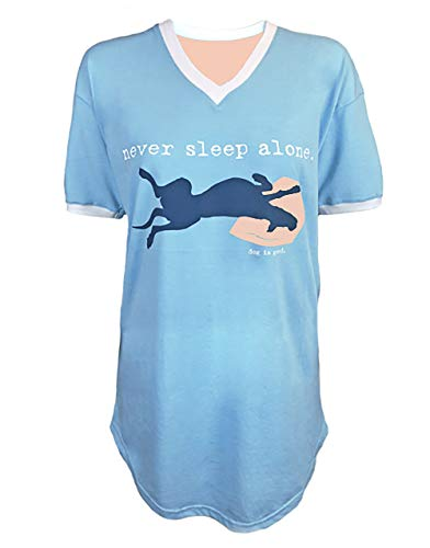 """Never Sleep Alone"" Night Shirt"