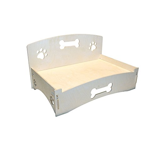 MPI Wood birch dog bed