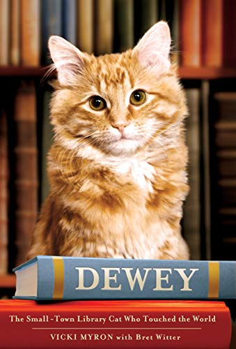 """""""Dewey: The Small-Town Library Cat Who Touched the World"""" book"""