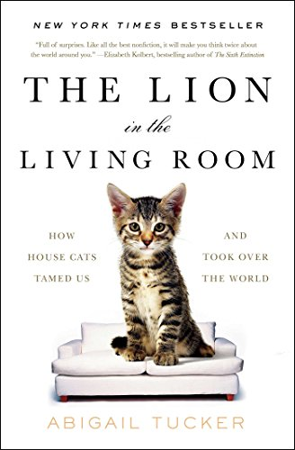 """""""The Lion in the Living Room"""" cat history book"""
