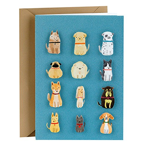 Small Dogs Blank Greeting Card