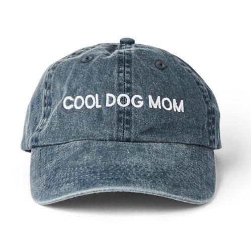 """Cool Dog Mom"" denim hat"