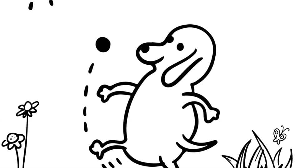25+ Beautiful Picture of Free Dog Coloring Pages - birijus.com | 540x960