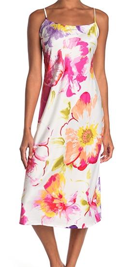 floral print chemise