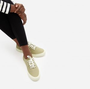 Everlane Forever sneaker for dog moms