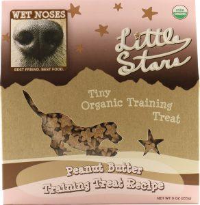 Wet Noses Little Stars Peanut Butter Dog Treats