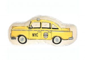 Harry Barker canvas taxi cab sustainable dog toy