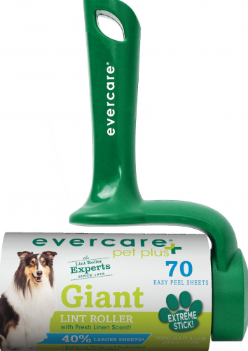 Green Evercare Pet Plus giant lint roller