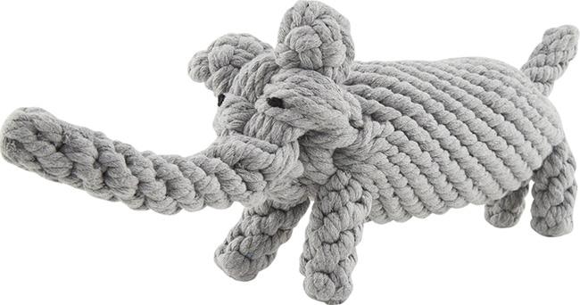 Jax and Bones eco-friendly elephant rope dog toy