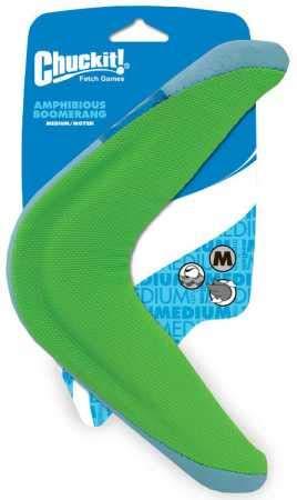 Chuckit amphibious boomerang for dogs