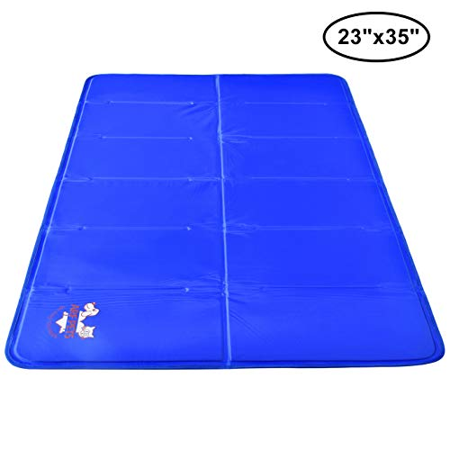 blue Arf brand cooling pad for cats (and dogs)