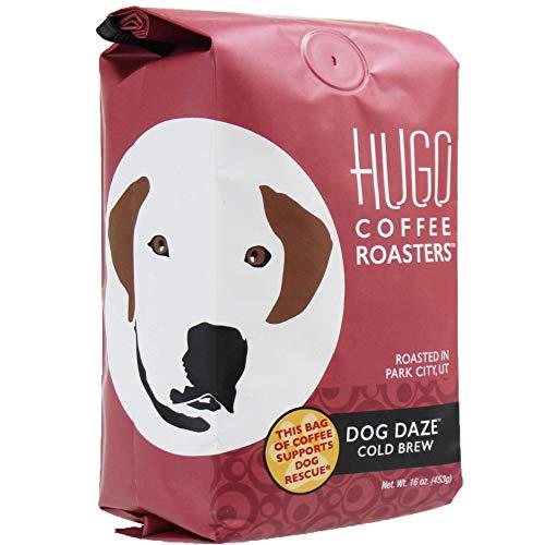 bag of Hugo Coffee Roasters beans