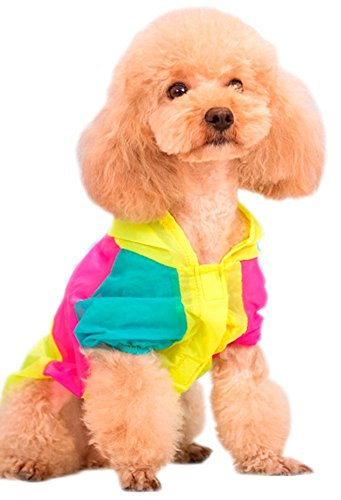 Amazon MaruPet colorful hoodie summer dog top