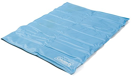 light blue Coleman cooling pad for cats