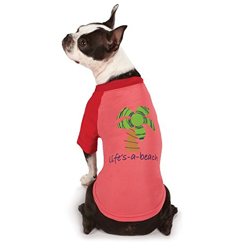 Amazon Zack and Zoey Life's a Beach SPF40 summer dog top