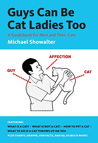 """""""Guys Can Be Cat Ladies Too"""" book for cat dads"""