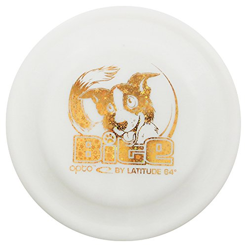 white Latitude 64 hard disc for dogs