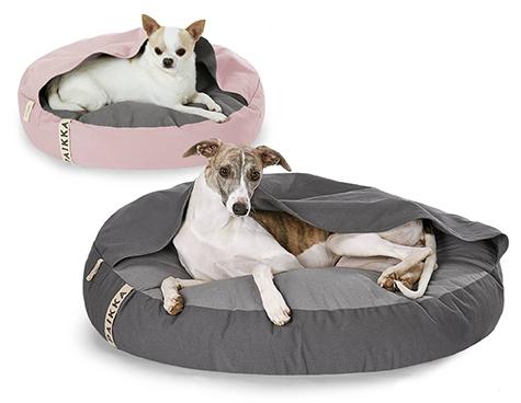 Paikka medium and large round dog burrow beds