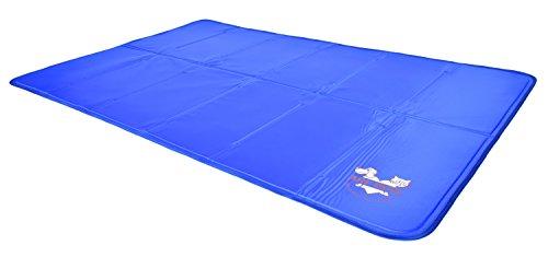 blue Arf Pets gel cooling pad