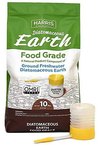 Harris Food Grade diatomaceous earth flea treatment