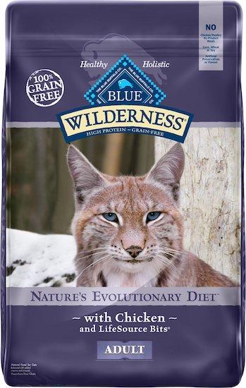Blue Buffalo adult cat food