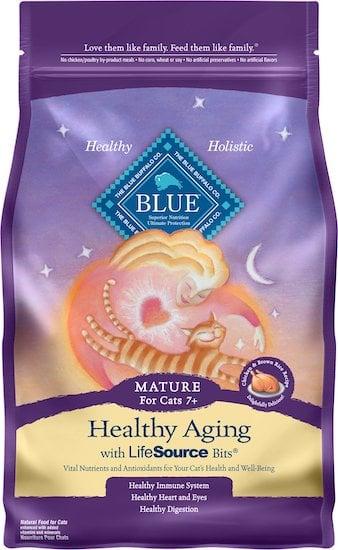 Blue Buffalo healthy aging food