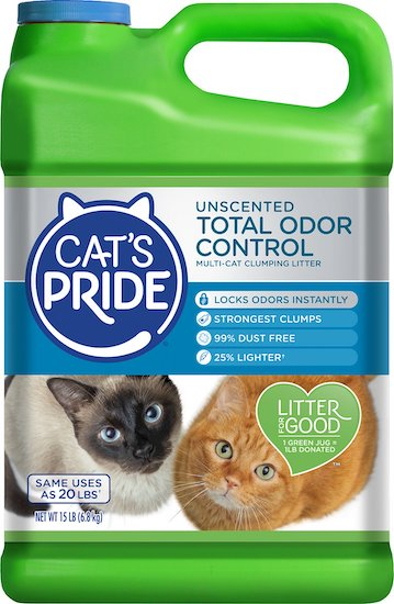 Cat's Pride dust-free litter