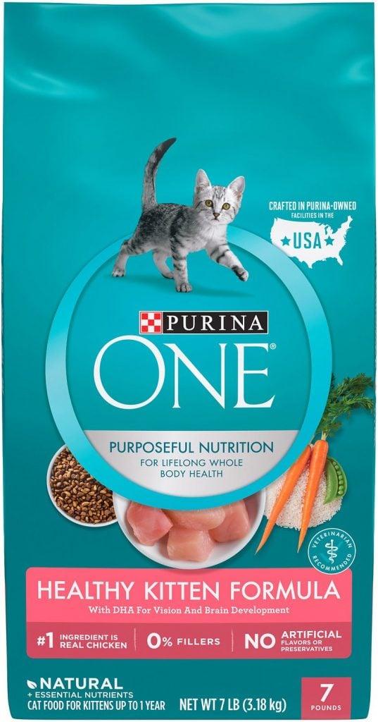 Purina kitten food