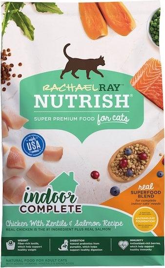 Rachel Ray Nutrish dry cat food