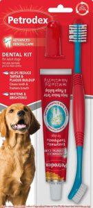 Sentry Petrodex dog dental care kit