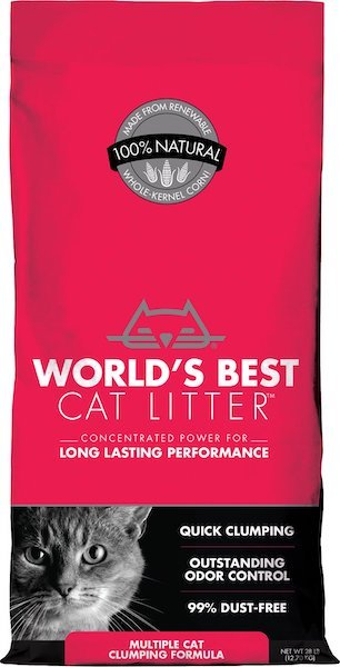 bag of World's Best litter for multiple cats