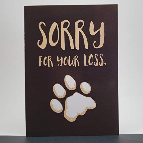 The Alaska Greeting Card Company canine sympathy