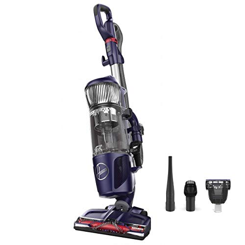 purple Hoover upright vacuum for pet hair