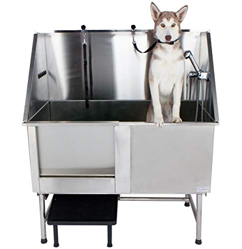 PawBest stainless steel tub