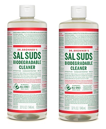 Dr. Bronner's Sal Suds Biodegradable non-toxic cleaning product for pets