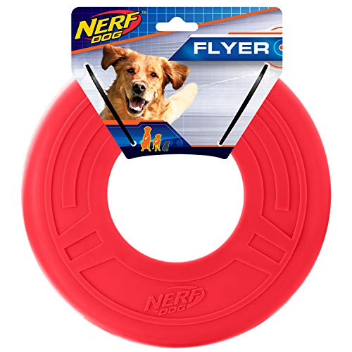red Nerf Dog Flyer ring-shaped pool toy