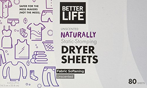 Better Life natural dryer sheets