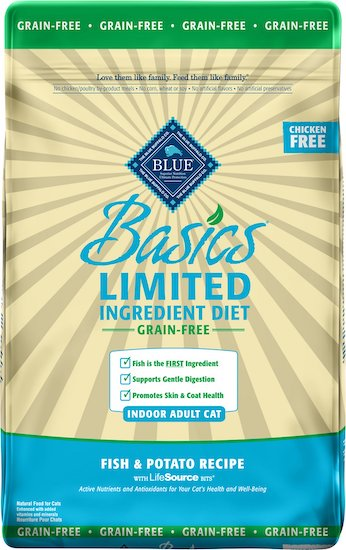 bag of Basics Limited Ingredient Diet cat food