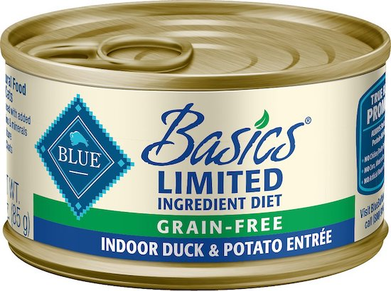 Blue Basics food for cats with allergies