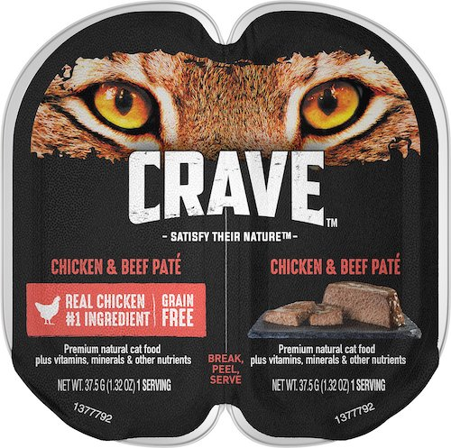 Crave wet cat food