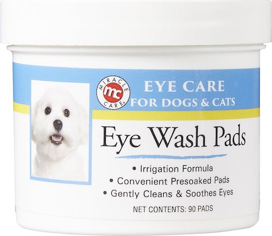 eye wash pads for dogs and cats