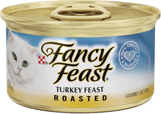 Fancy Feast turkey