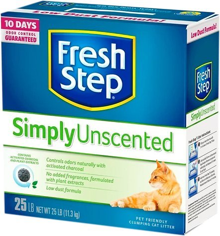 Fresh Step Unscented litter